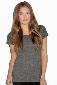 Damesshirt Bella Canvas Triblend crew neck